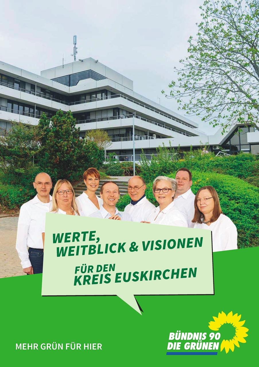 Kreis-Wahlprogramm zur Kommunalwahl 2014