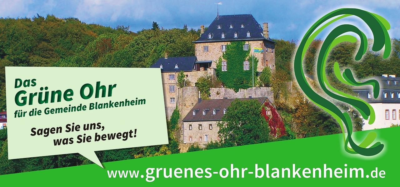 Das Grüne Ohr für die Gemeinde Blankenheim