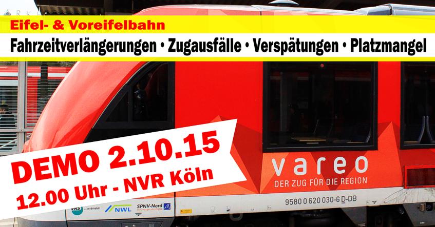 2.10.2015 - 12 Uhr - Demo vor dem NVR in Köln