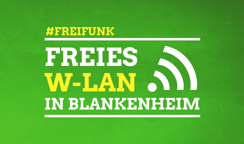 Freifunk - Freies WLAN in Blankenheim
