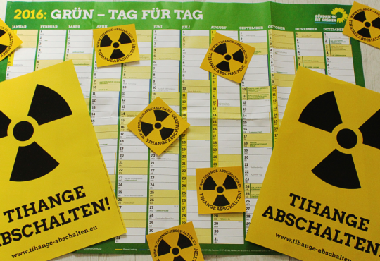 Tihange Abschalten - Plakate & Aufkleber