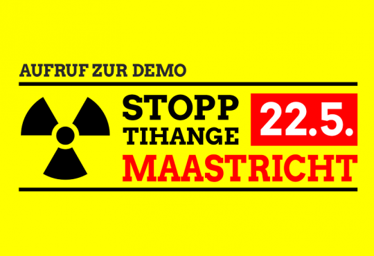Stopp Tihange - Demo 2016 Maastricht