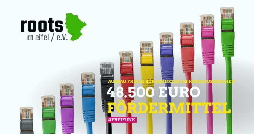 48.500 Euro Fördermittel für den Ausbau freier Bürgernetze im Kreis Euskirchen