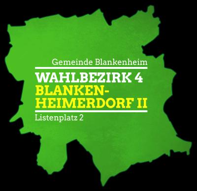 Gemeinde Blankenheim Wahlbezirk 4 - Blankenheimerdorf II